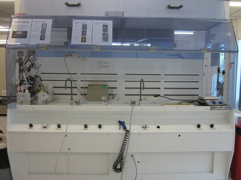 Picture of Solvent Wet bench
