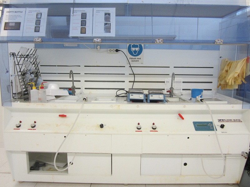 Picture of Lithography Wet bench